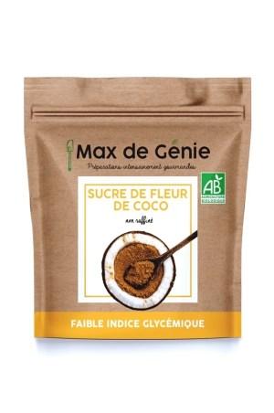 packaging sucre de fleur de coco bio