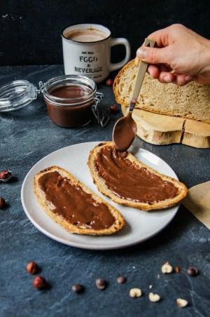 Pâte à tartiner Max de Génie sur du pain