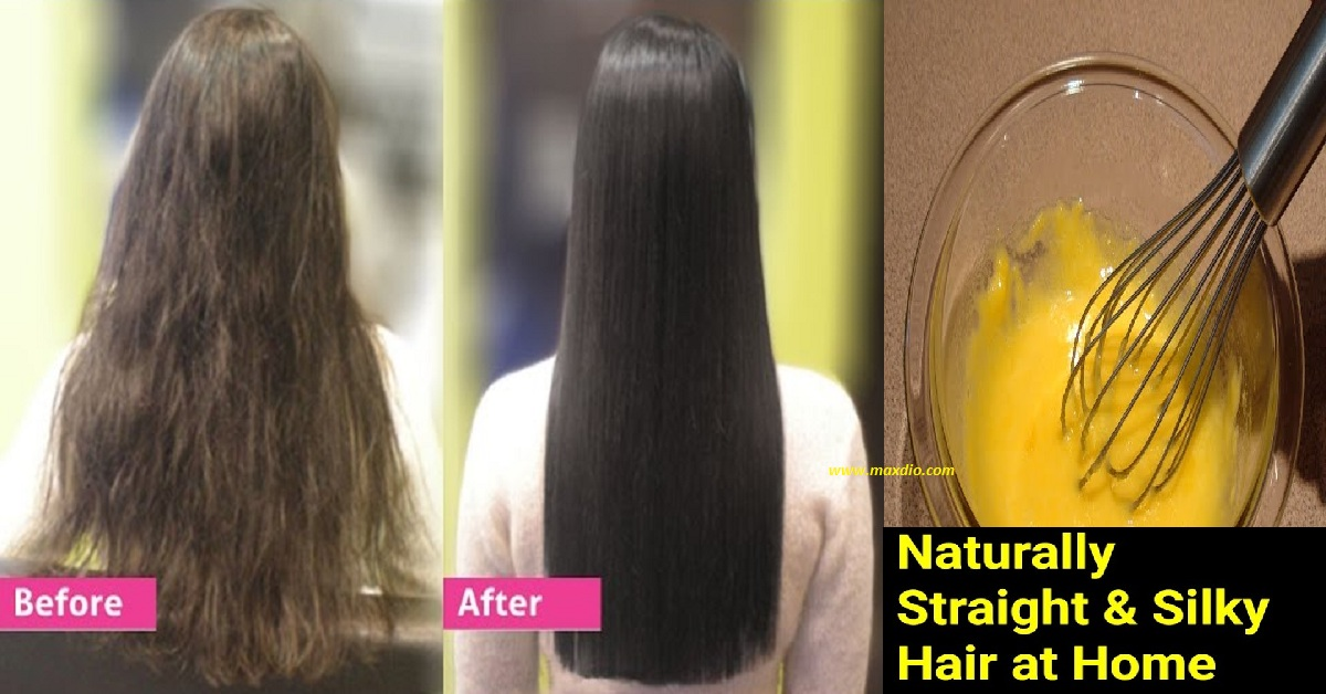Natural Home Remedies For Straightening Hair Maxdio