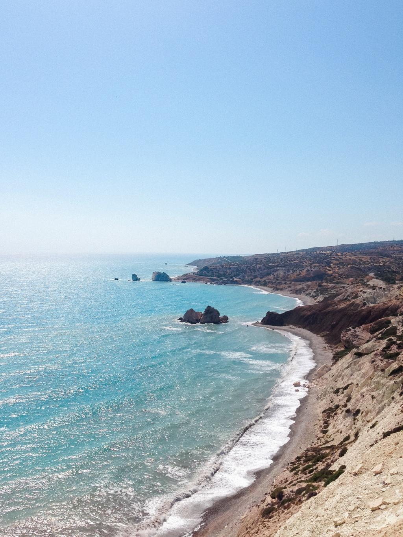 Maxeen Kim Photography, Aphrodite's Rock, Cyprus, Travel Photography