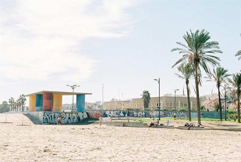 Valencia, Spain, Beach, Palm Trees, Bohemia Gathering