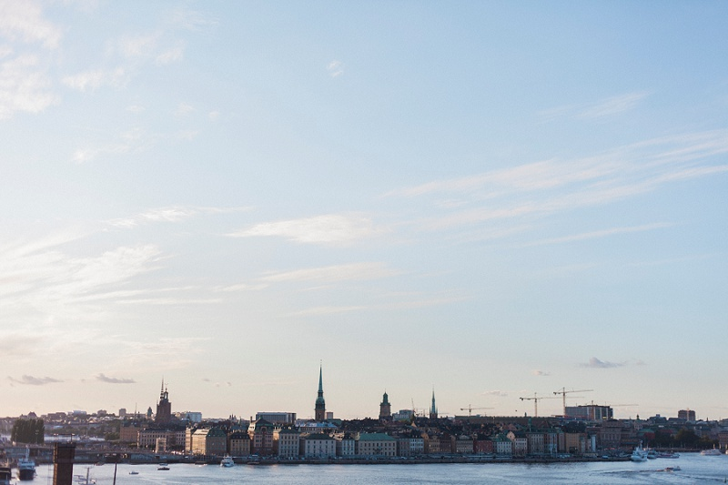 Skyline in Stockholm, Sweden by Maxeen Kim Photography