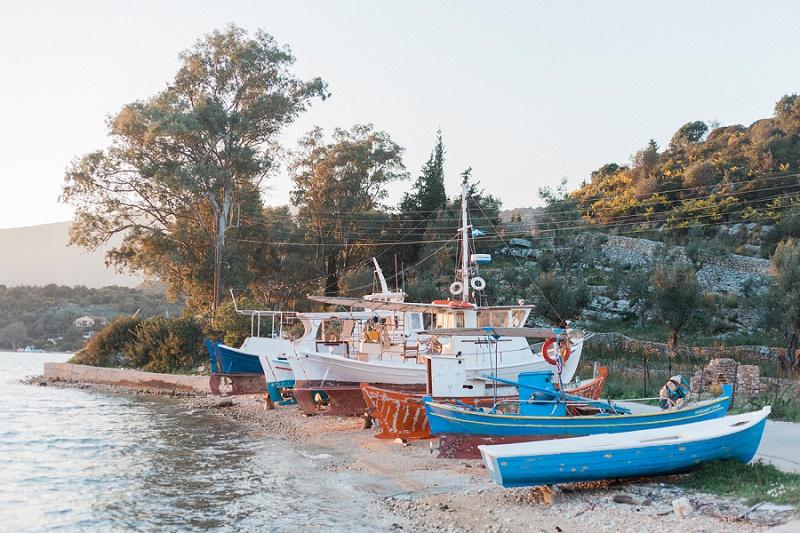 Vathi, Ithaca, Greece, Travel Photography