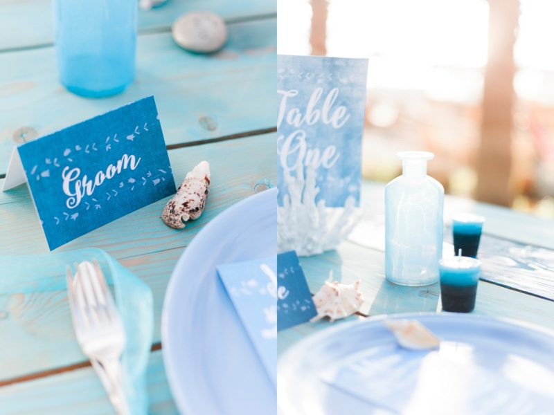 Beach Blue Wedding Inspiration, Maxeen Kim Photography, Cyprus