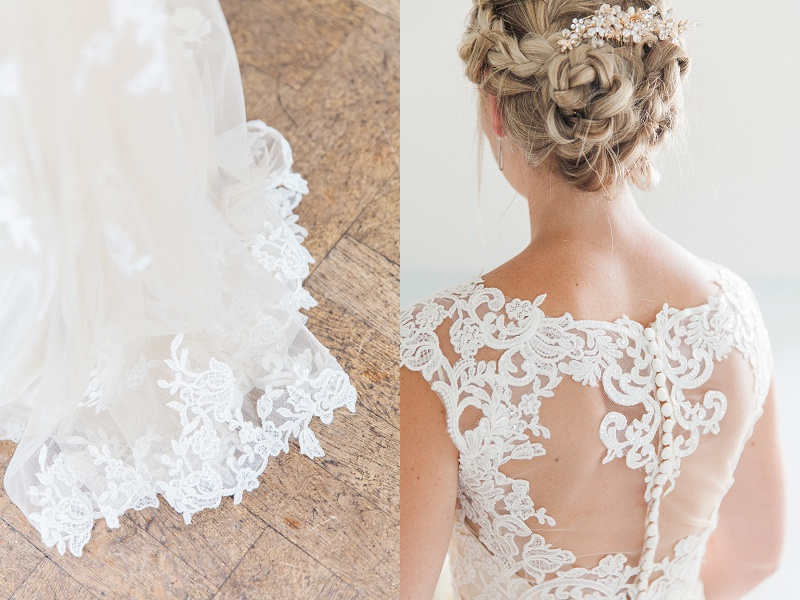 Maggie Sottero Dress with Illusion Back