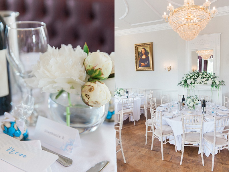 Details in the Ceremony Room of Belair House
