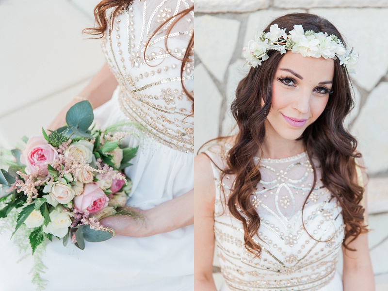 Bridal Portraits and Close up of Bouquet