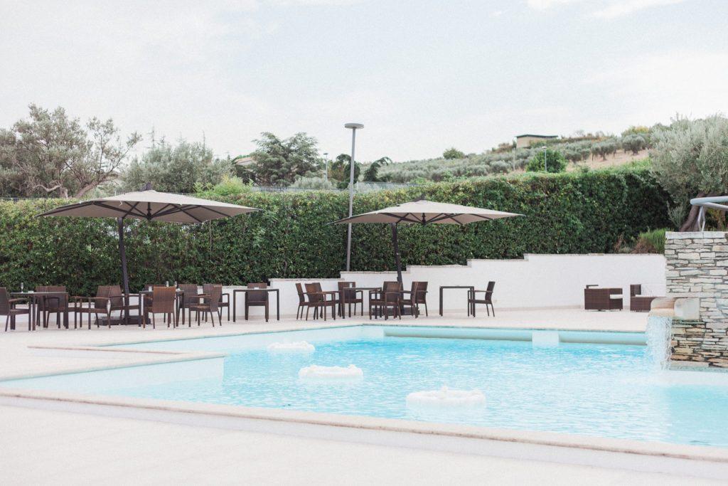 The Convivium Hotel in Vasto is an Abruzzo wedding venue