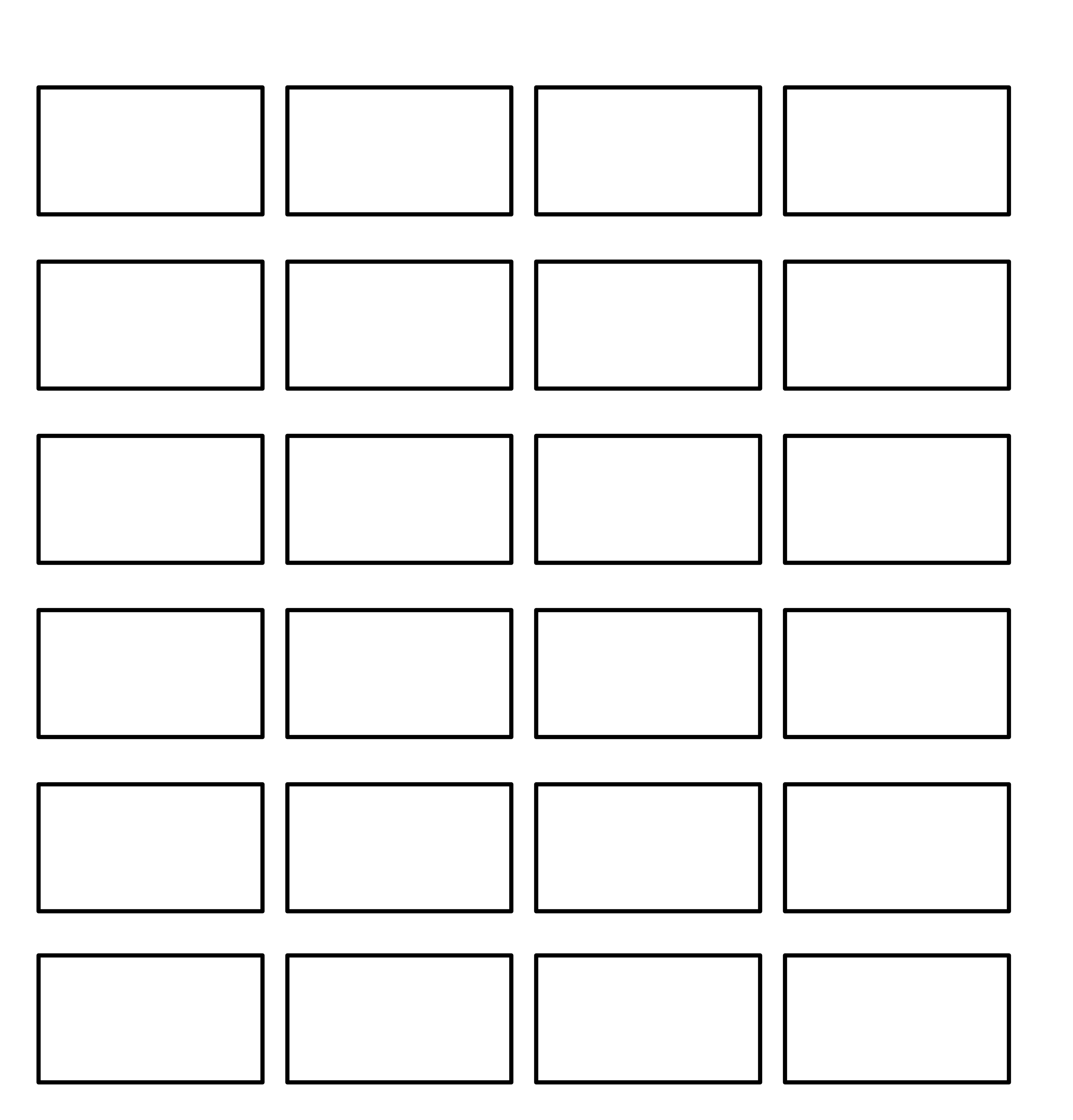 Free Professional Commercial Storyboard Template Max