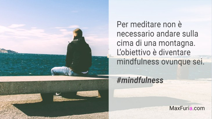 dove meditare