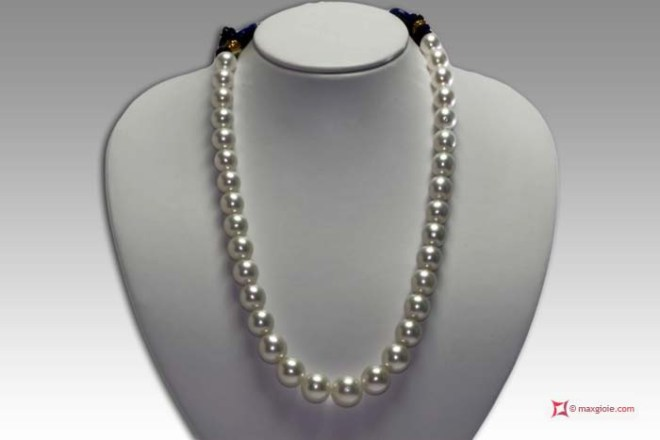 TOP South Sea Pearls Necklace 11x14,5mm