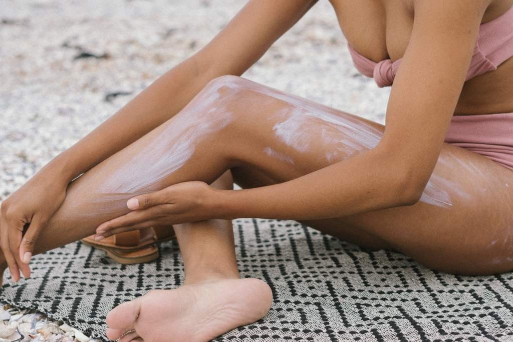 apply sun screen to protect your skin from UV rays.