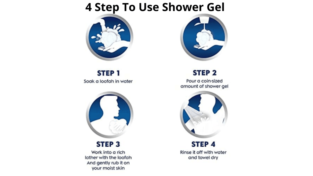 how to use shower gel