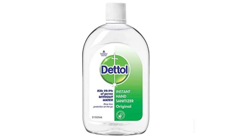 Dettol the best hand sanitizer in india