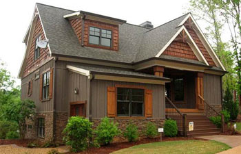 Rustic House Plans and Open Floor Plans   Max Fulbright Designs cottage house plans
