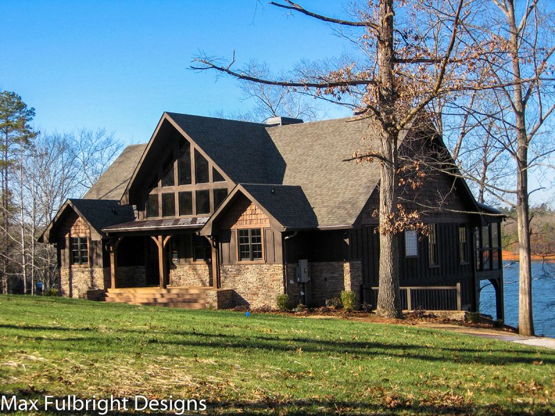 Lake House Plans   Specializing in lake home floor plans appalachia lake house plans max fulbright designs