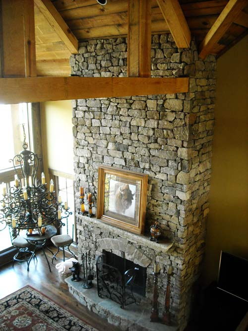 3 Story Open Mountain House Floor Plan Asheville