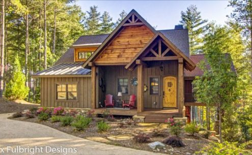 Rustic Cottage House Plans by Max Fulbright Designs blowing rock cottage rustic mountain house plan