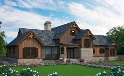 Lake House Plans   Specializing in lake home floor plans Dogtrot house plans large
