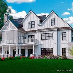 Carolina Farmhouse Modern Farmhouse House Plan