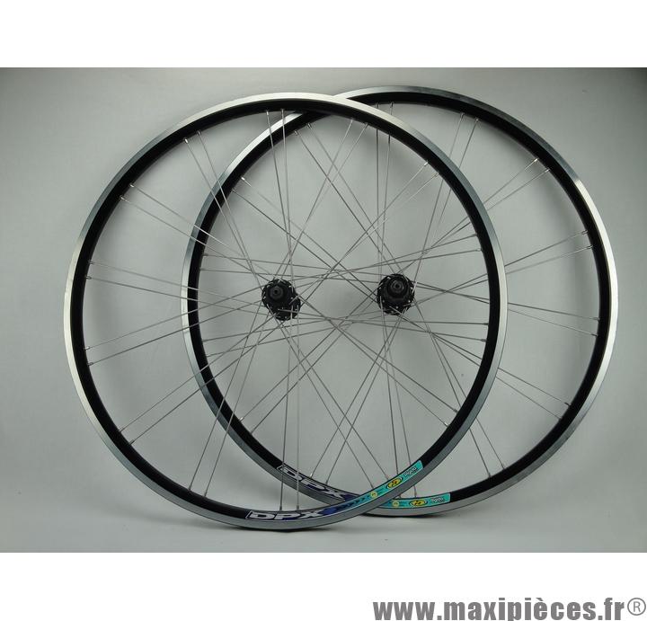 paire de roues route course 700c rigida dpx cassette 8 9 10 vitesses a blocage destockage
