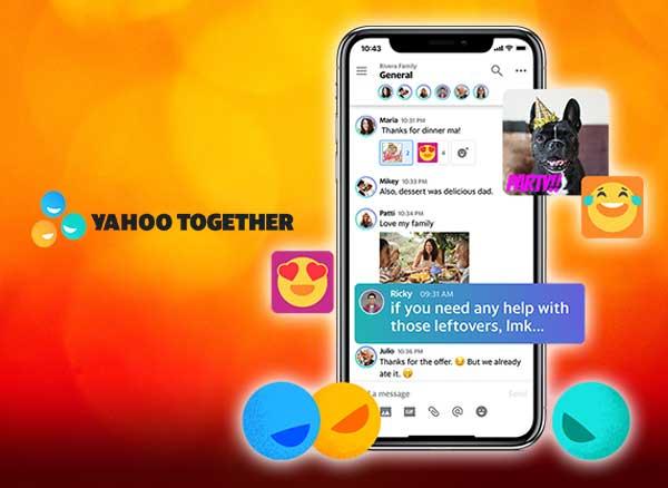 Yahoo Together iPhone iPad