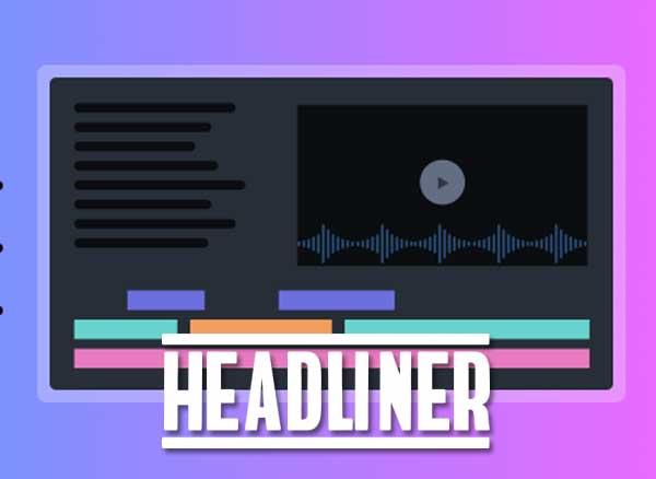 headliner webapp montage video en ligne mac pc gratuit - Headliner, Montage Vidéo Pro en Ligne 100% Gratuit (video)