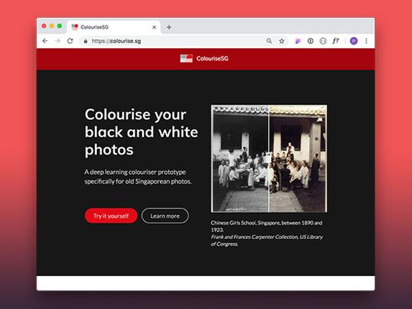colourise sg colorisation photo noir blanc internet gratuit 1 - Coloriser des Photos Noir et Blanc avec Colourise SG (gratuit)