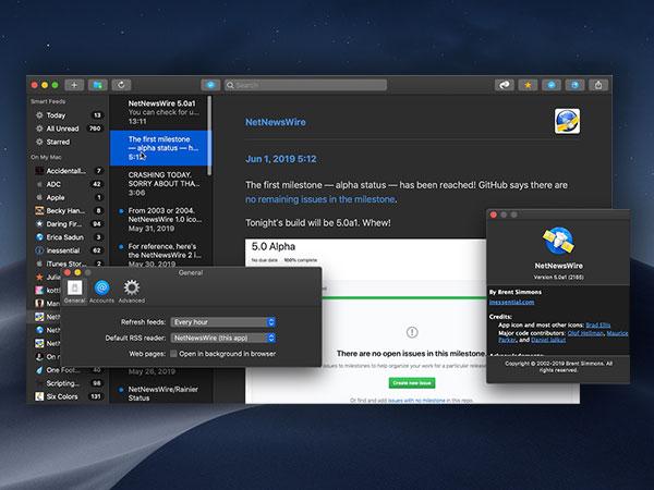 netnewswire macos mac gratuit 1 - NetNewsWire 5 Mac - Renaissance du Lecteur de Fils RSS (gratuit)