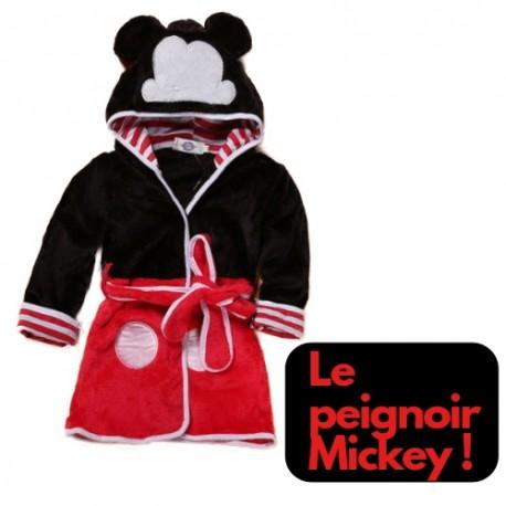 Acheter Robe De Chambre Polaire Mickey A Capuche Peignoir Mickey Bebe Pas Cher Enfant Garcon Fille