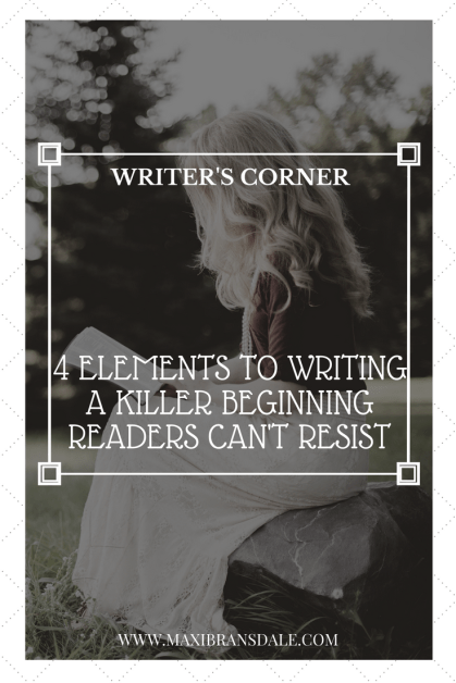 Tips to Writing the Perfect Beginning