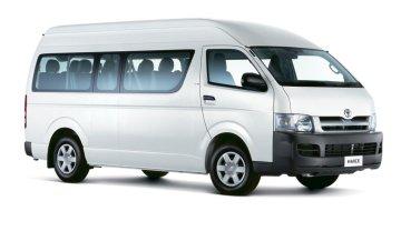 13 Seater Mini Bus Toyota Hiace Highroof