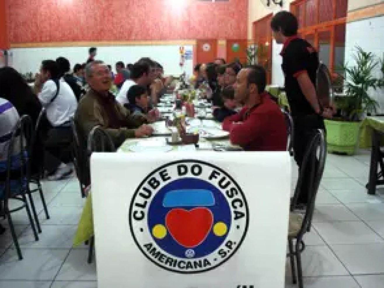 Jantar do DMF 2012 do Clube do Fusca de Americana