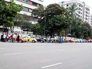 Encontro em Daca, Bangladesh, no próprio dia 22.06.2012 – sexta-feira feriado religioso semanal