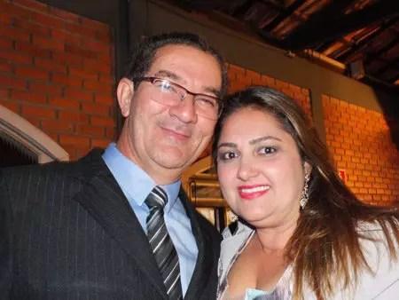 Robson e sua esposa