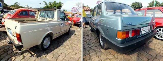 Pick-up City e Oggi: dois modelos raros da Fiat