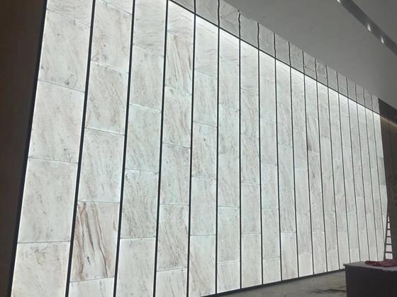 LED Sheet Back lit Onyx Wall