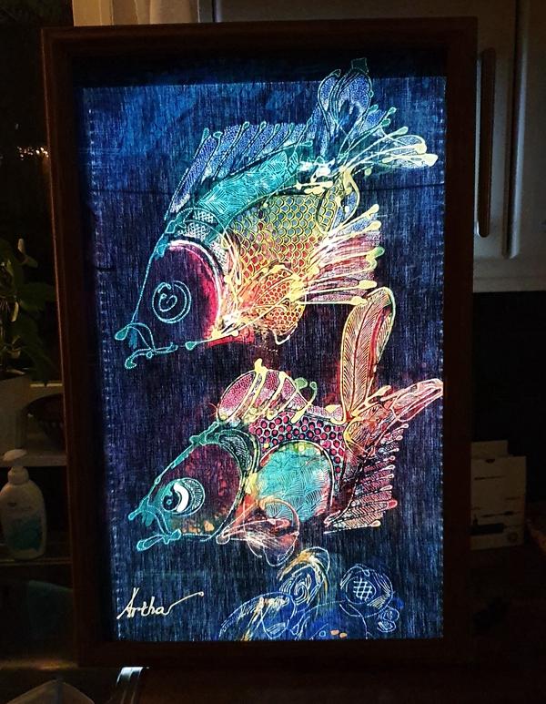 LED Panel Light up Artwork Paint