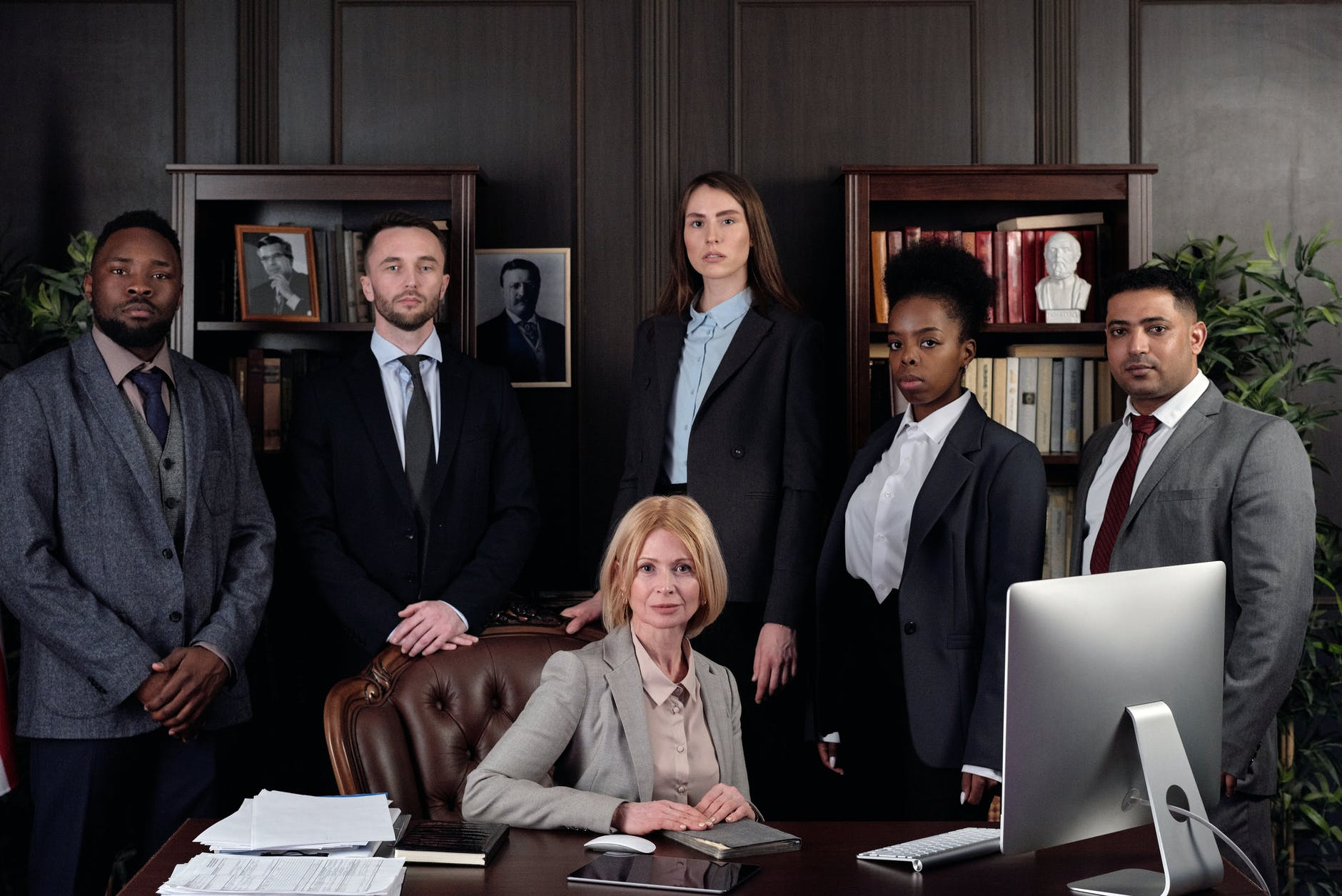 lawyers posing for a photo