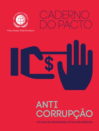 Caderno do Pacto Anticorrupção