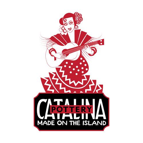 Catalina Island Pottery Lady
