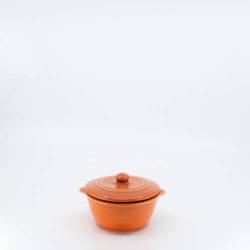 Pacific Pottery Hostessware 205c Ramekin Lid Red