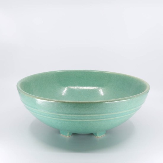Pacific Pottery Hostessware 314 Serving Bowl Green