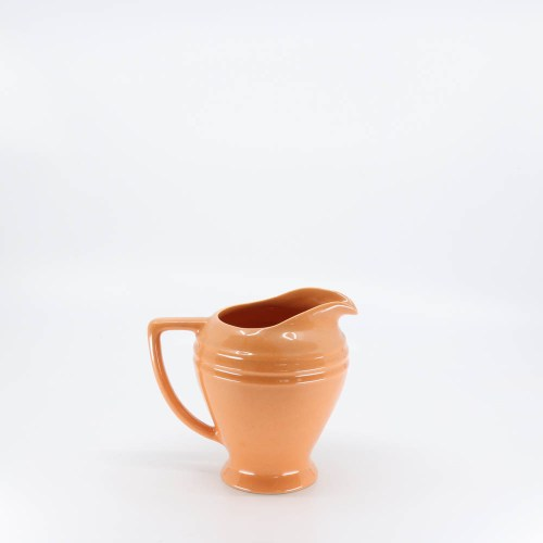 Pacific Pottery Hostessware 458 Restyled Pitcher Apricot (later)