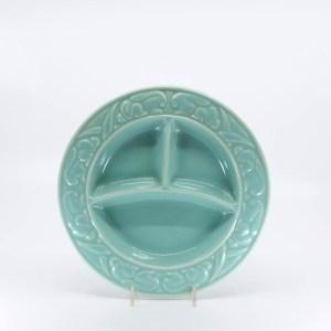 Pacific Pottery Hostessware 656 Child's Plate Green