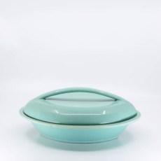Pacific Pottery Hostessware 664 Oval Veg Green