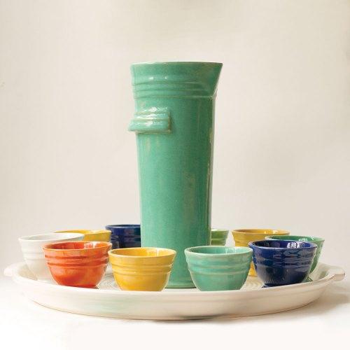 Pacific Pottery Hostessware 630 Martini Set
