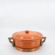 Pacific Pottery Hostessware 209 Casserole Red