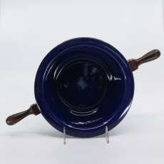 "Pacific Pottery Hostessware 223 7"" Baker Pacblue"