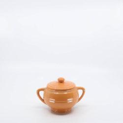 Pacific Pottery Hostessware 403 Sugar Apricot